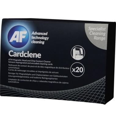 Reinigungskarte Cardclene ATM f. Magnetk. u. Chipkontakte PA 20St