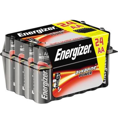 Batterie Alkaline Power Mignon / LR06 / AA 24 Stück