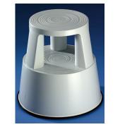 Rollhocker 3618 mit 3Gleitrollen grau
