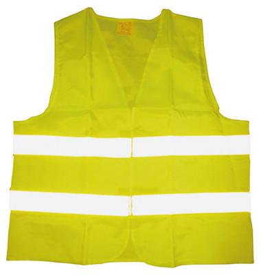head warnweste en iso 20471 polyester gelb. Black Bedroom Furniture Sets. Home Design Ideas