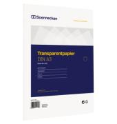 Transparentpapier 1231 DIN A3 80g 50Blatt