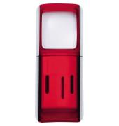 Lupe 2717502 4,7x11,8x1,4cm LED rot +Batterien