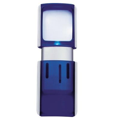 Lupe 2717503 4,7x11,8x1,4cm LED blau +Batterien