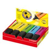 Textmarker Boss Original 10er Etui farbig sortiert 2-5mm Keilspitze