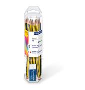 Bleistift Noris 61 120 P1 HB 2mm ge/sw  +Radierer