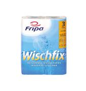 Küchenrollen 3012010 Wischfix 3-lagig hochweiß 2 Rollen à 51 Blatt