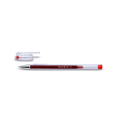 Gelschreiber G1 Klassik BL-G1-5T rot 0,3 mm mit Kappe
