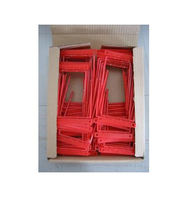 Archivbügel 2-teilig rot Fh: 12mm 100 St