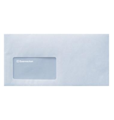 Briefumschläge 2929 Din Lang mit Fenster selbstklebend 75g weiß 1000 Stück