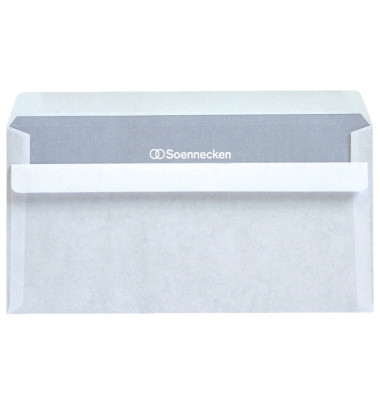 Briefumschlag 2932 Kompakt ohne Fenster selbstklebend 75g weiß 1000 Stück