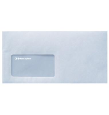 Briefumschlag 2933 Kompakt mit Fenster selbstklebend 75g weiß 1000 Stück