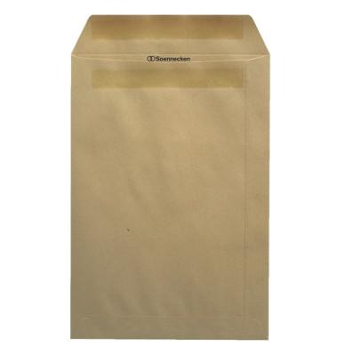 Versandtaschen 2952 B4 ohne Fenster selbstklebend 110g braun 250 Stück
