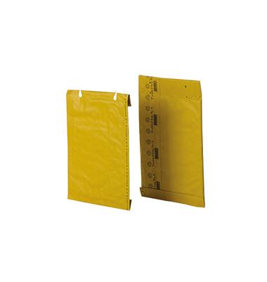 Papierpolstertaschen Nr. 4, 00012006, innen 230x310mm, Lochung für Klammer, braun