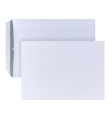 Versandtaschen B5 ohne Fenster haftklebend 90g weiß
