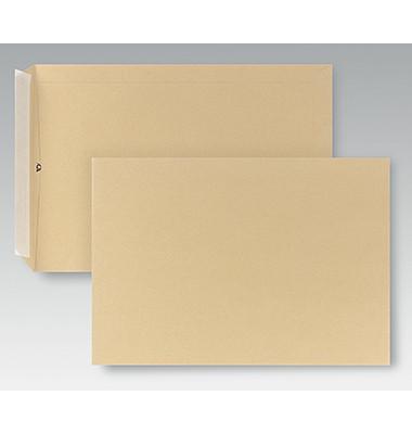 Versandtaschen C4 ohne Fenster haftklebend 110g braun