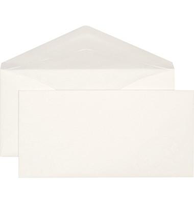 Briefumschläge Prestige Din Lang+ ohne Fenster nassklebend 100g weiß 250 Stück