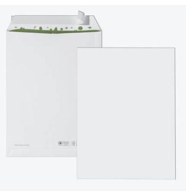 Versandtaschen C4 ohne Fenster haftklebend 100g weiß