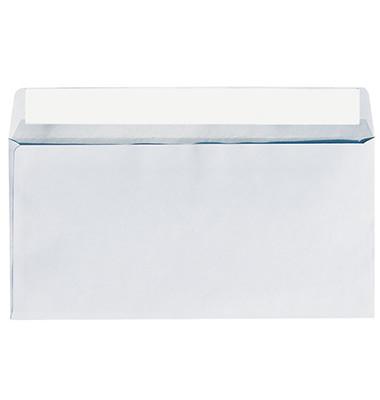 Briefumschläge 1306 Din Lang ohne Fenster haftklebend 80g weiß 25 Stück