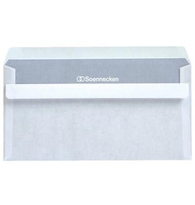 Briefumschläge 2074 Din Lang ohne Fenster selbstklebend 75g weiß 100 Stück