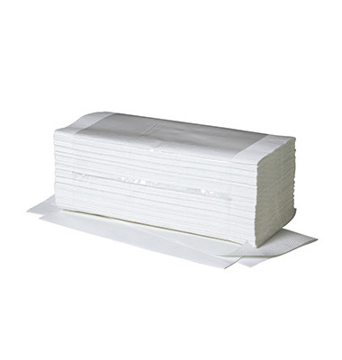 Papierhandtuch Ideal 4031101 25x23cm weiß 20x250 Bl./Pack.