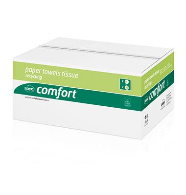 Papierhandtücher Comfort 277190 Comfort 25x23cm weiß 20x160 Bl./Pack.