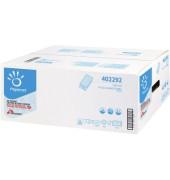 PAPERNET Papierhandtuch 402292 21 x 24 cm V-Falz weiß 3.150 St./Pack.