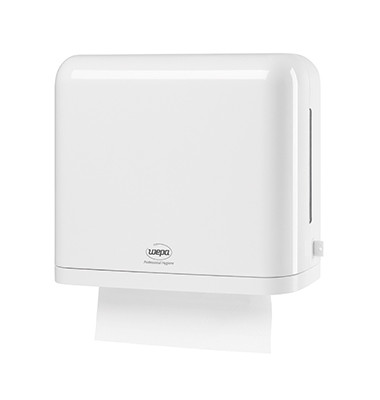 Handtuchspender 331020 330x290x150mm Kunststoff weiß