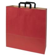 Papiertragetasche Topcraft 1FTTC005032 groß rot 50 St./Pack