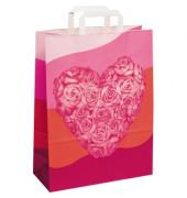 Papiertragetaschen Trendbag Heart 1FTTC010014 groß