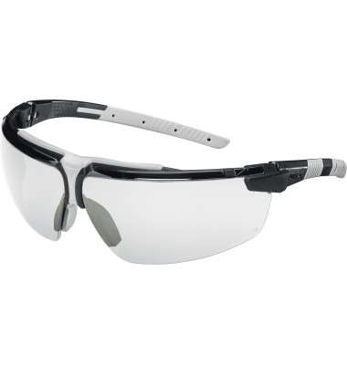 Schutzbrille 9190 280 i-3 SV HC/AF farblos sw/hellgrau