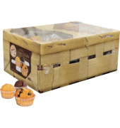 Gebäck Mini Muffin im Körbchen 60114800 14g 60 St./Pack.