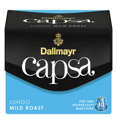Kaffeekapsel capsa Lungo Mild Roast 110000000 10 St./Pack.