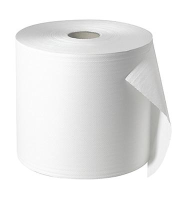 Putzrolle 5522902 28cmx570m 2lagig Tissue weiß