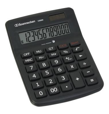 Tischrechner CS900 8662 schwarz