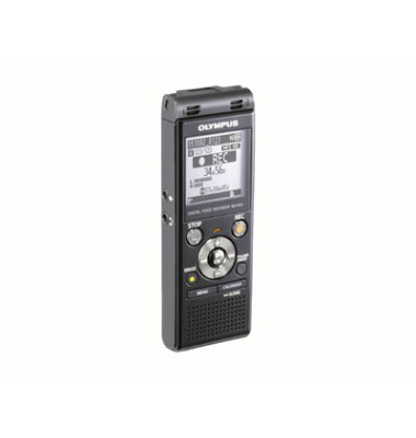 Diktiergerät WS-853 Stereo-Recorder WS-853-E1-BLK