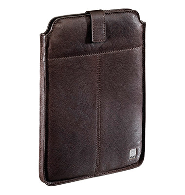 Tablettasche Vintage Big 00119928 für Apple iPad,Leder braun