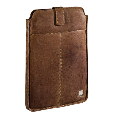 Tablettasche Vintage Big 00119929 für Apple iPad Leder tan