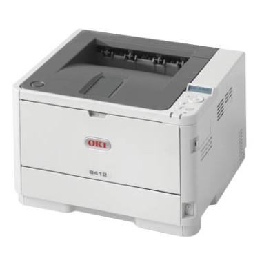 Laserdrucker B412dn 45762002 Mono Duplex DIN A4