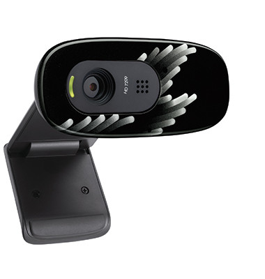 Webcam 960-001063 C270 HD USB schwarz