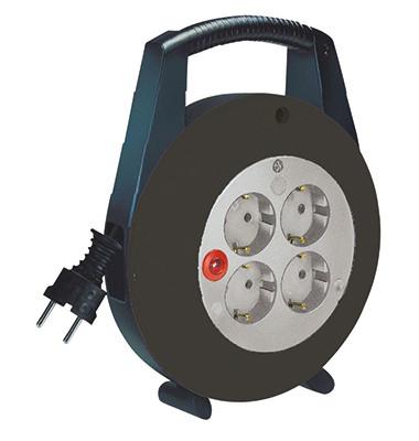Kabelbox Vario-Line 1092200 4fach 5m Kabel schwarz