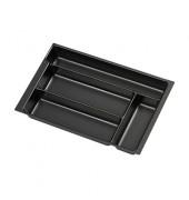 Schubladeneinsatz PIT580P1800 51mm 4Fächer schwarz