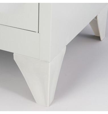 Fuß MLMPF800 für MonoBloc Polypropylen lichtgrau 4 St./Pack.