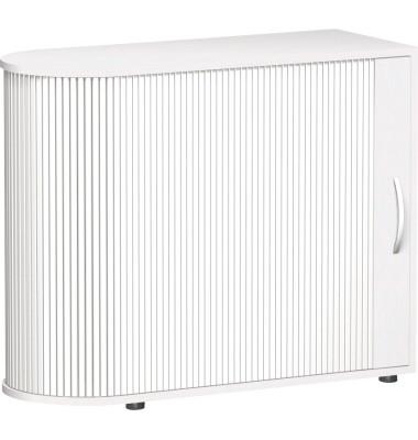 Rollenschrank Mailand S-382101-W 83x100x40cm weiß
