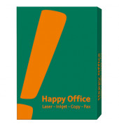 Happy Office Kopierpapier A4 80g weiß 500 Blatt