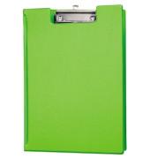 Klemmbrettmappe 23,8 x 32 cm (B x H) Karton, Folienüberzug Material der Kaschierung außen: Folie hellgrün