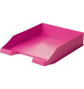 Briefablage 1027 A4 / C4 pink stapelbar