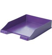 Briefablage 1027 A4 / C4 lila stapelbar