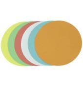 Moderationskarten Kreise Ø 14cm farbig sortiert 250 Stück