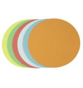 Moderationskarten Kreise Ø 19,5cm farbig sortiert 250 Stück