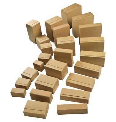 Versandkarton Eurobox 2-wellig 29,4 x 28,7 x 9,4 cm braun 1 Stück